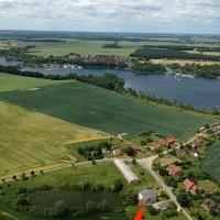 Dorfteich Luftbild