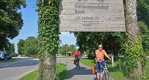 Mit dem Fahrrad auf dem Müritz Rundweg